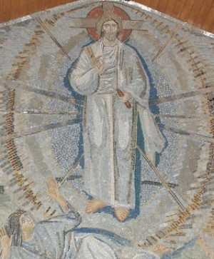 Фрагмент мозаики «Преображение Господне»