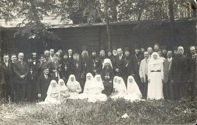 Члены приходского совета Александро-Невской лавры