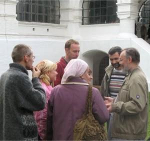 После литургии
