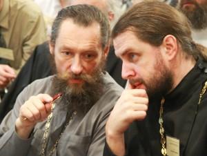О. Андрей Юревич и о. Евгений Горячев