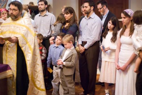 Группа новокрещенных