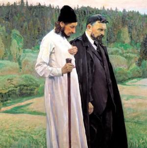 М.В. Нестеров. Философы.
