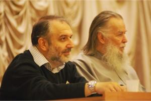 Давид Гзгзян и прот. Павел Адельгейм