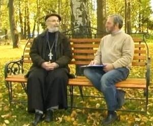 Свящ. Георгий Кочетков и Сергей Смирнов