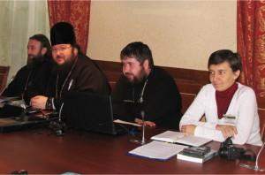 На секции о расколах и сектах