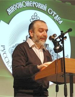 Проф. Д. Гзгзян выступает на Рождественских чтениях