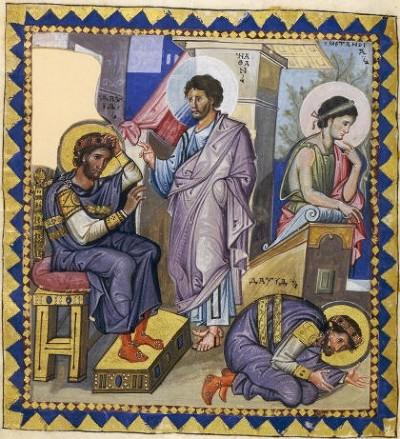 Пророк Нафан обличает Давида