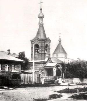 Сретенская Леушинская подворская церковь