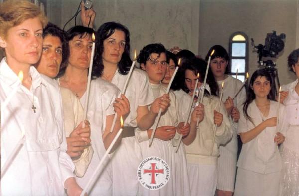 Новокрещённые в Албании