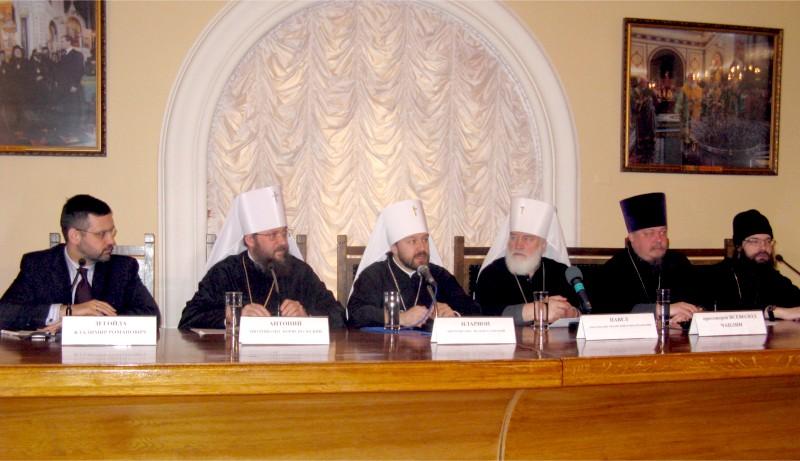 Пресс-конференция по итогам Архиерейского собора