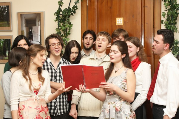 Члены молодёжного Круга