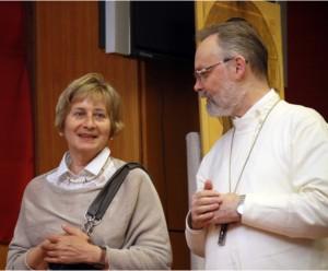 Священник Георгий Кочетков и О.А. Седакова
