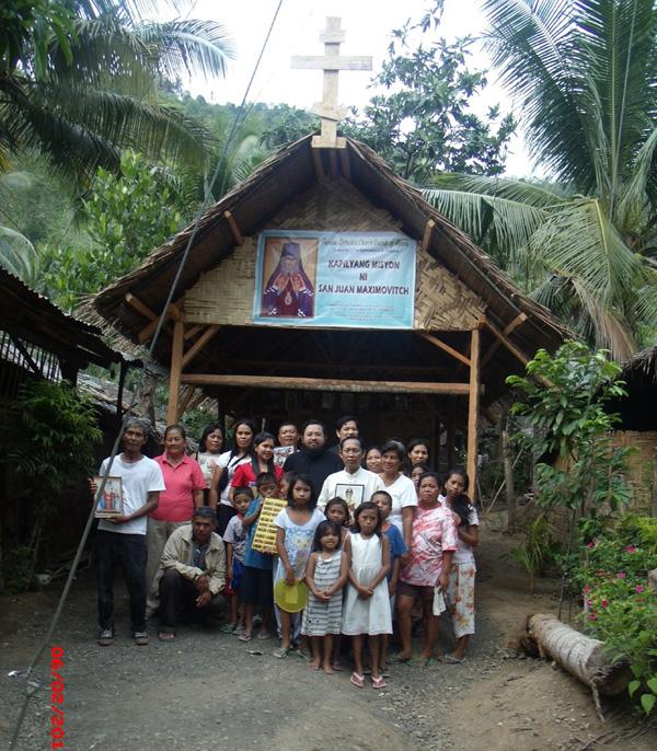 Новообращённые на Филиппинах
