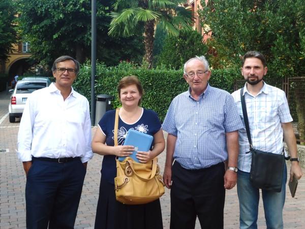 С представителями АКЛИ