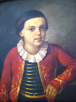 Михаил Лермонтов, 6-8 лет