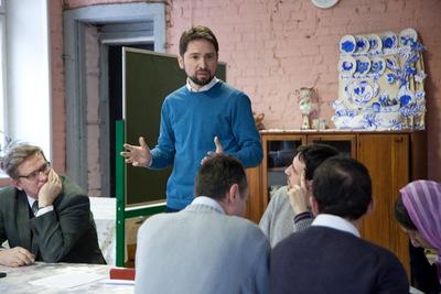 Выступает президент Культурно-просветительского центра «Преображение» Алексей Наумов