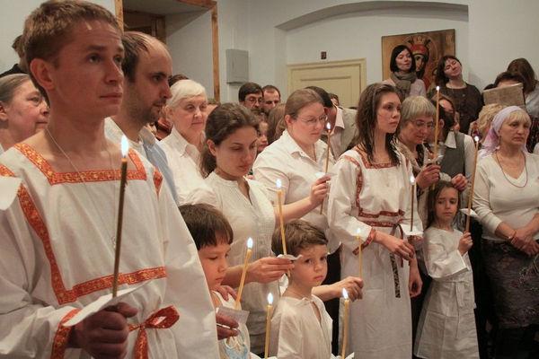 Новокрещёные и их крёстные