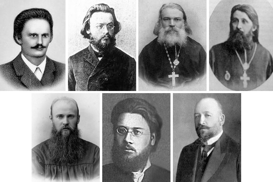 Члены Совета объединённых приходов Москвы