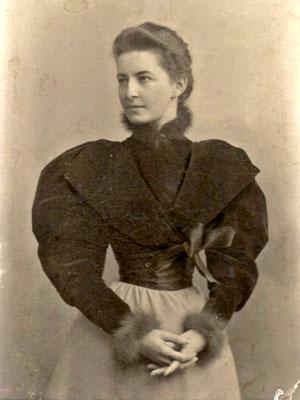 Наталья Ивановна Шаховская в молодости