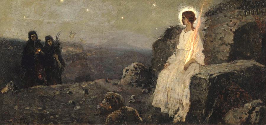 Жёны-мироносицы. Михаил Нестеров, 1889 г.