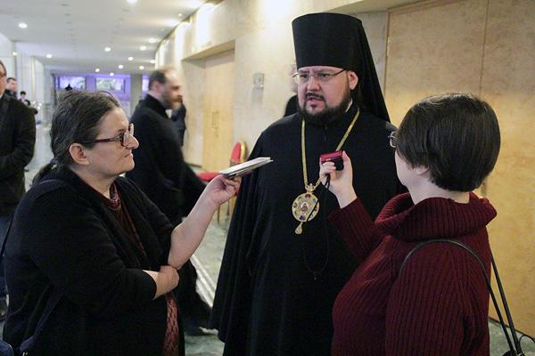 Интервью с епископом Мариинским и Юргинским Иннокентием