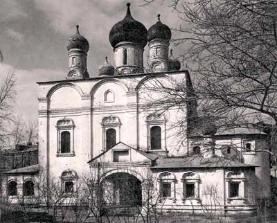 В начале 1990-х Владимирский собор