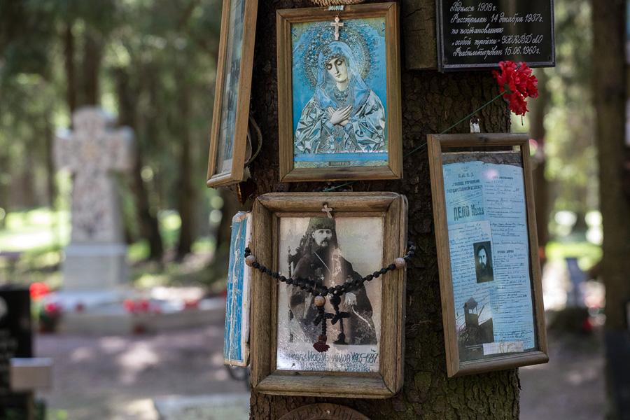Памятники в Левашово