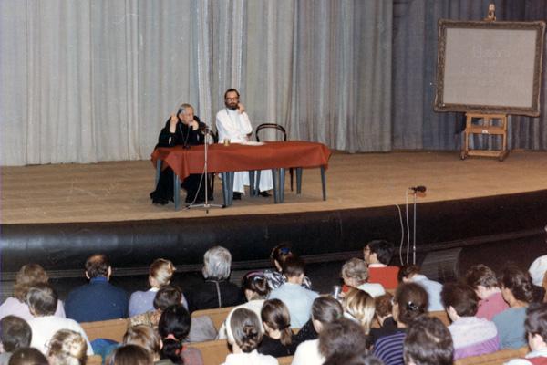 На конференции «Приход в православии»