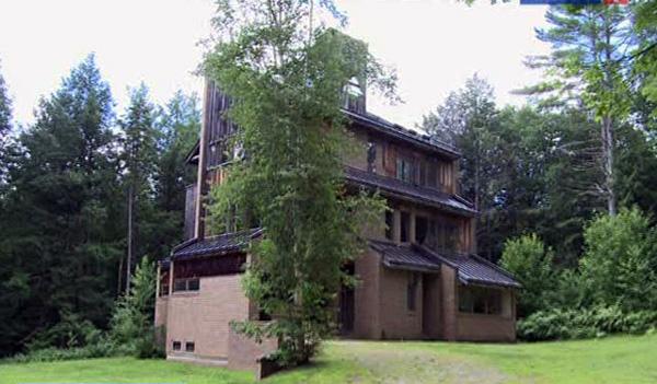 Дом Солженицына в Вермонте