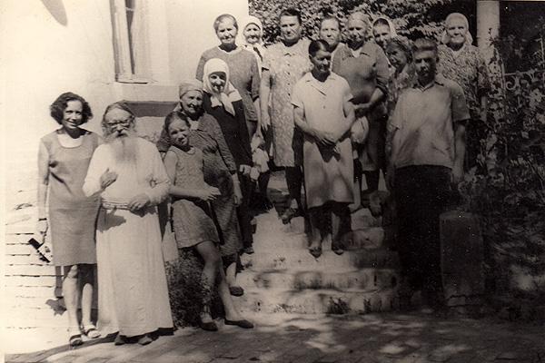 Отец Серафим в Георгиевском уголке