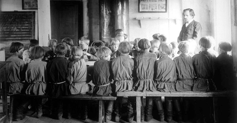 Сельская школа. Начало XX в.