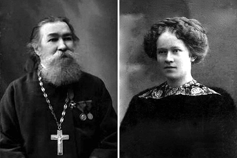 Удмуртские новомученики протоиерей Николай Чернышёв и его дочь Варвара Чернышёва