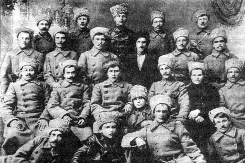 Члены союза фронтовиков Ижевска