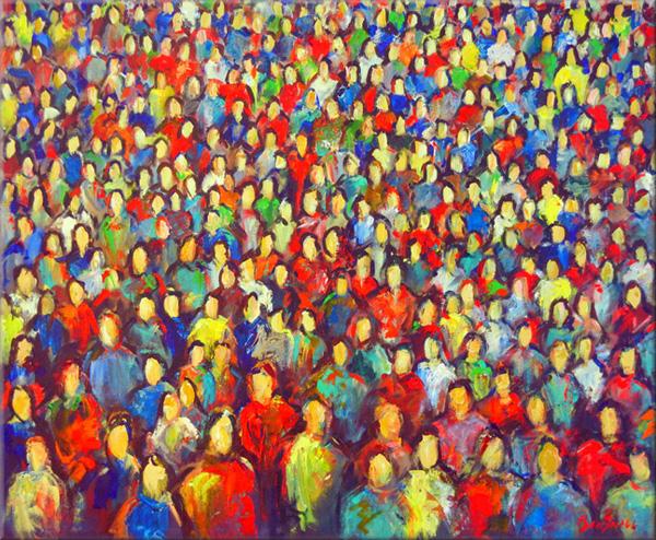 Анонимность: лица в толпе