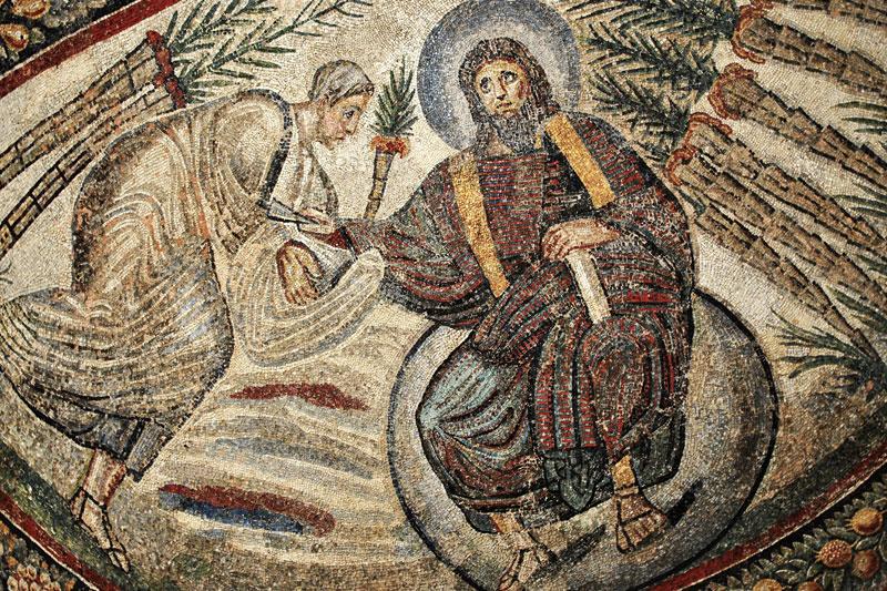 Христос вручает апостолу Петру ключи