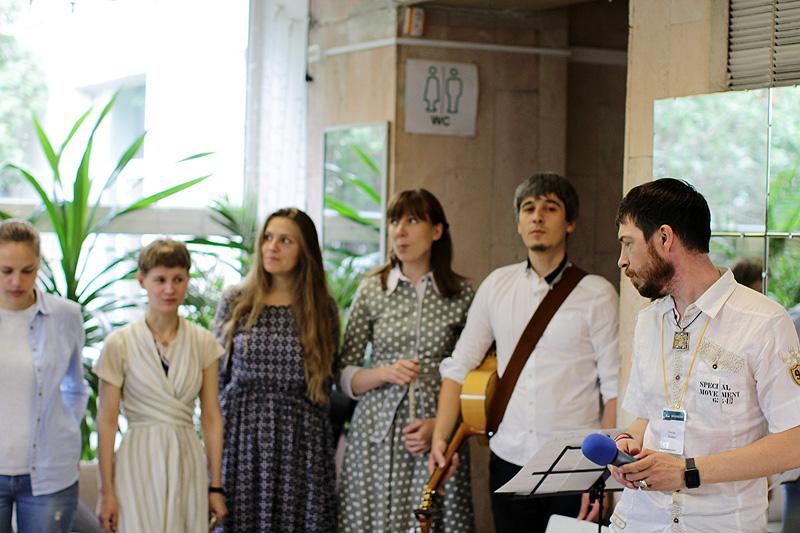 Праздник в Московском центре паллиативной помощи