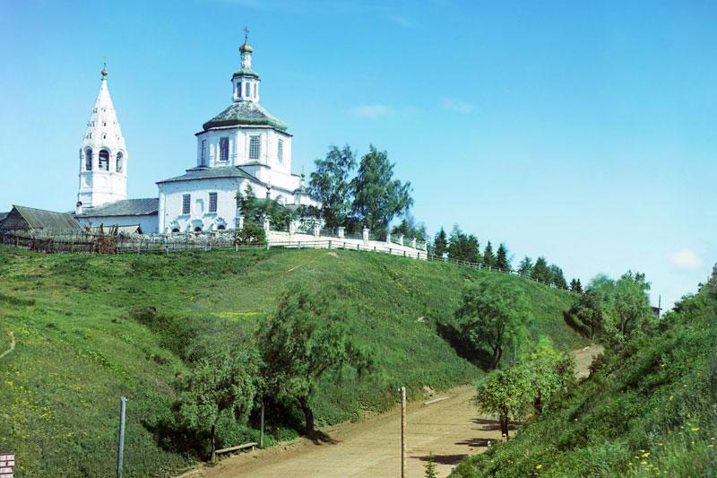 С. М. Прокудин-Горский. Церковь Св. Николая Чудотворца в г. Тобольске.