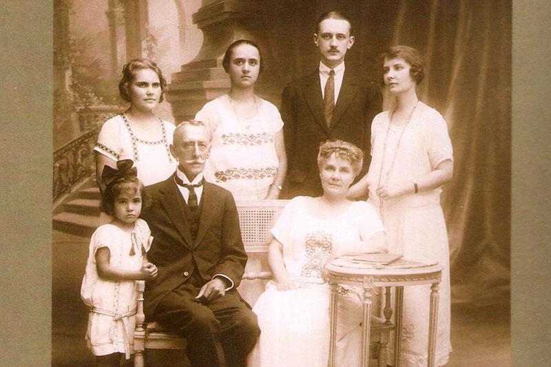 Семья генерала Д.Г. Щербачёва