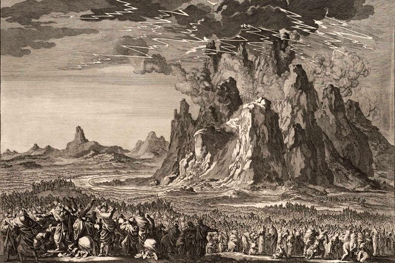В Библии рассказывается о заключении завета – договора между Богом и человеком