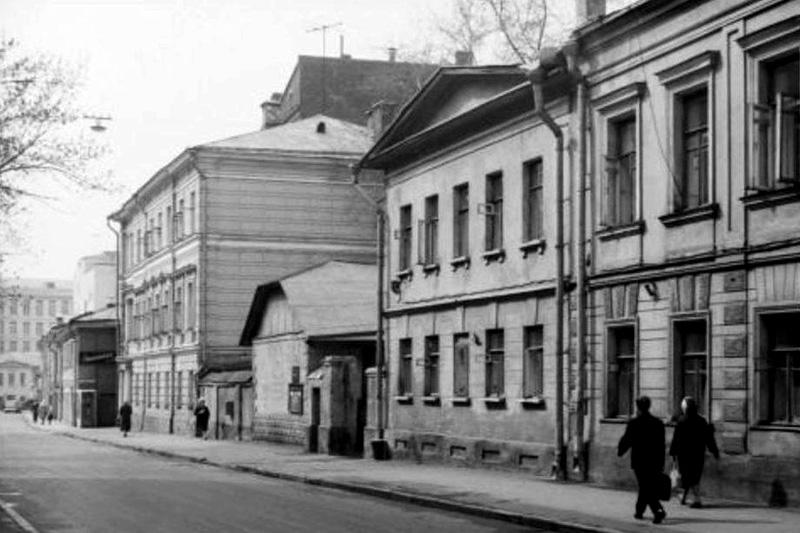 Квартира Бориса Александровича Грифцова