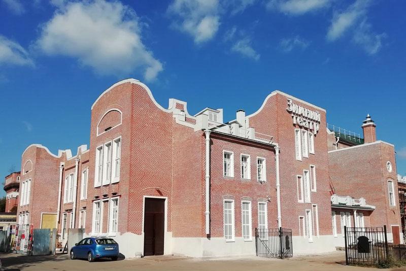Здание театра в Орехово-Зуеве