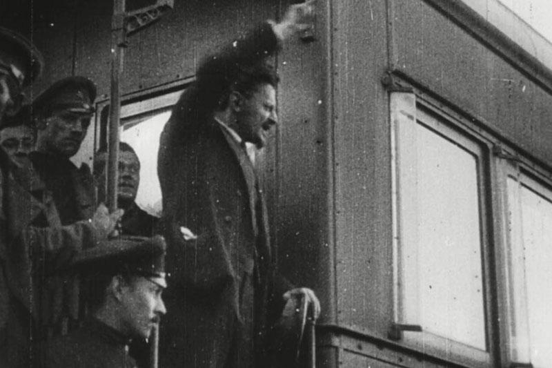 Поезд председателя Реввоенсовета Льва Троцкого