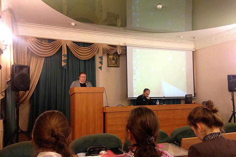 Выступление студентки СФИ Ольги Орловой