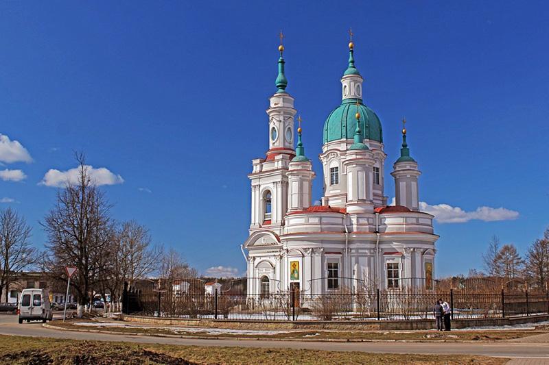 Екатерининский собор в Ямбурге
