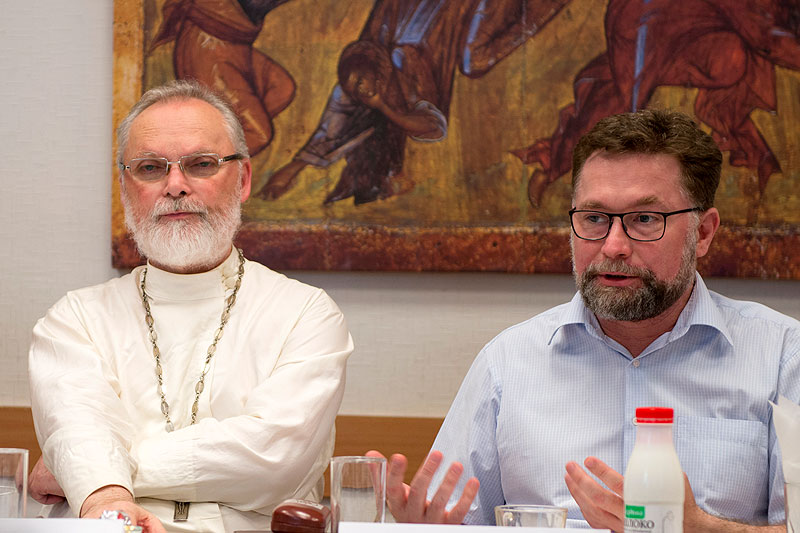 священник Георгий Кочетков и Дмитрий Гасак