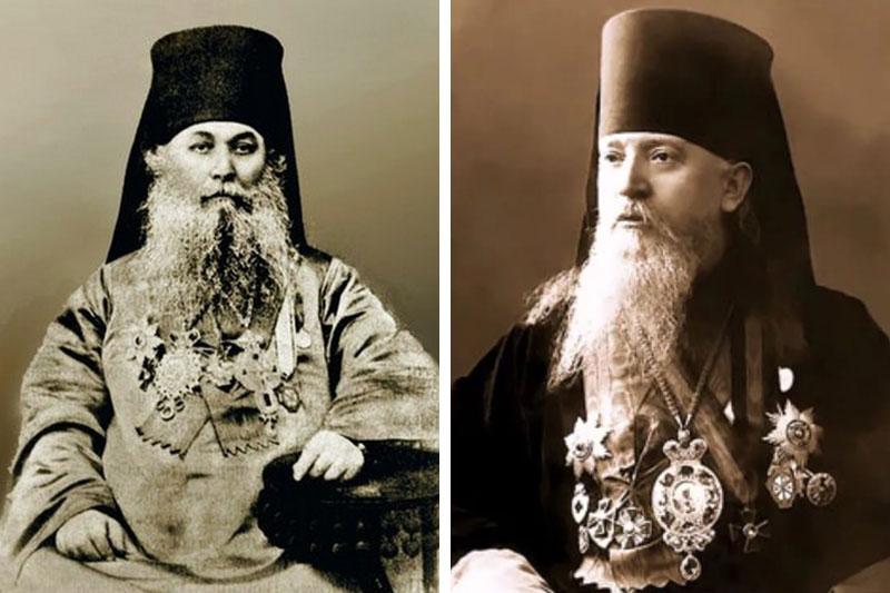 Архиепископ Иоанникий (Казанский) и митрополит Агафангел (Преображенский)