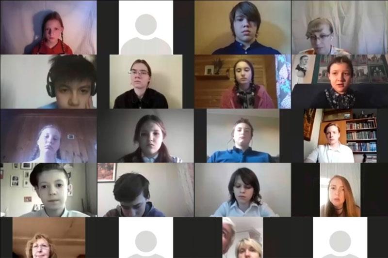 Интернет-спектакль «Свидетели войны»