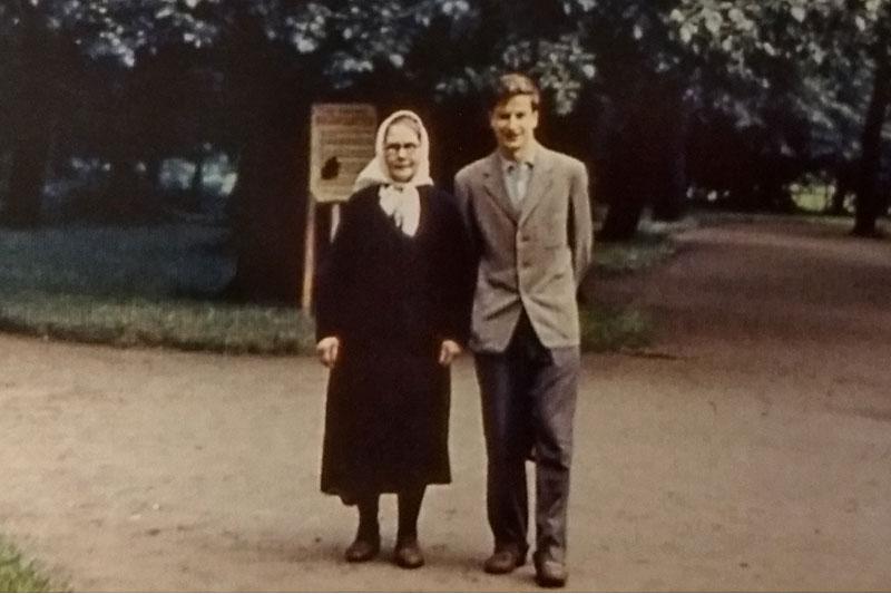 Монахиня Сергия (Анастасия Сергеевна Заспелова)