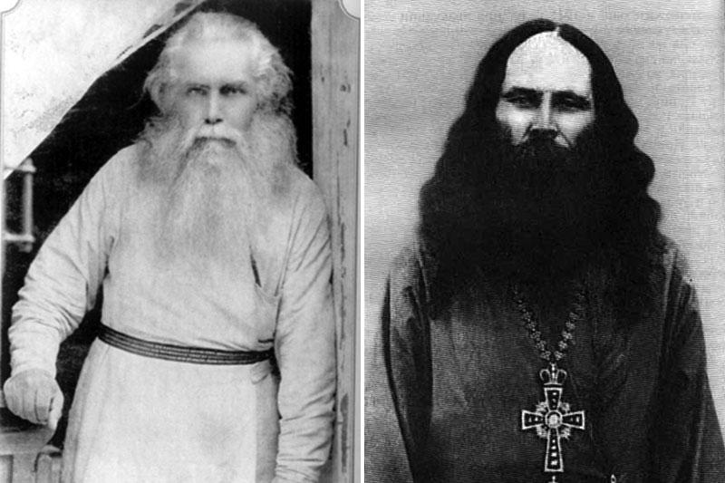 митрополит Кирилл (Смирнов) и иеромонах Феофан (Адаменко)