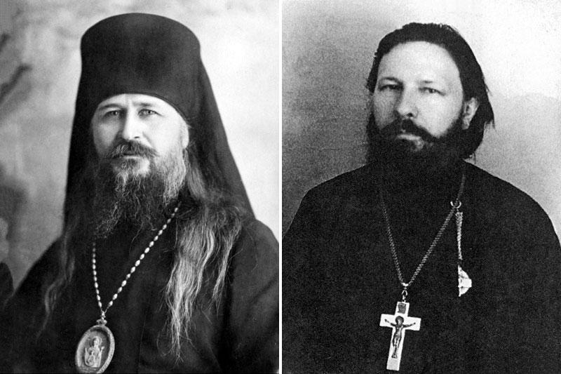 архиепископ Прокопий (Титов) и протоиерей Леонид Богоявленский